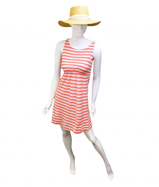 tommy-bahama-stripe-dress-orange